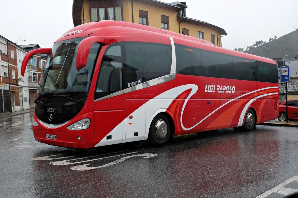 autocar para excursiones