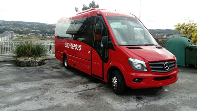 microbuses en coruña